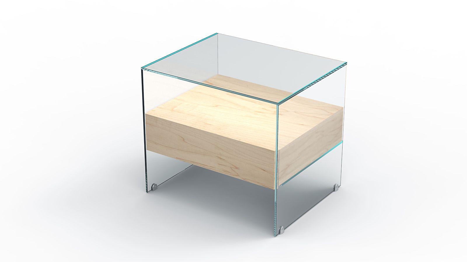 спальни стеклянная для décor отражение зеркал зеркальная необычная мебель дизайнерская тумба