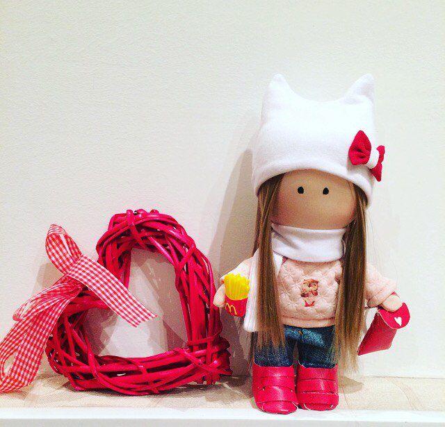 интерьернаякукла текстильнаякукла кукла куклавподарок