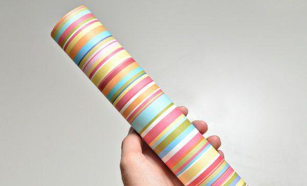 калейдоскоп фольга просто поделка картон игрушка бумага дети