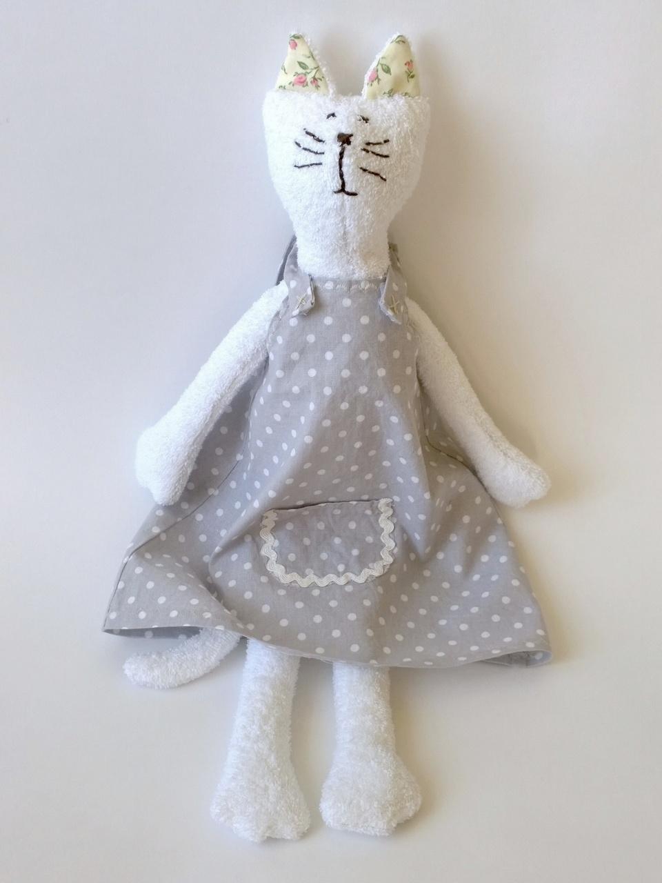 малышей мягкая игрушка хлопок кошка ручная для работа подарок