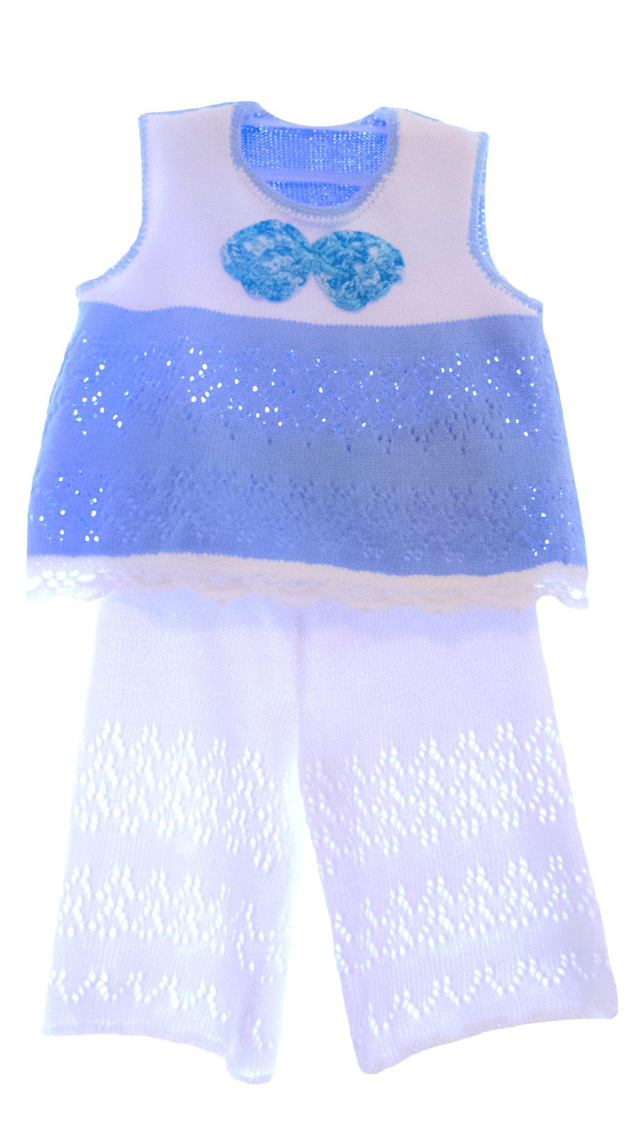 брючки летний однотонный топик разноцветный девочек одежда для девочки костюм вязаный