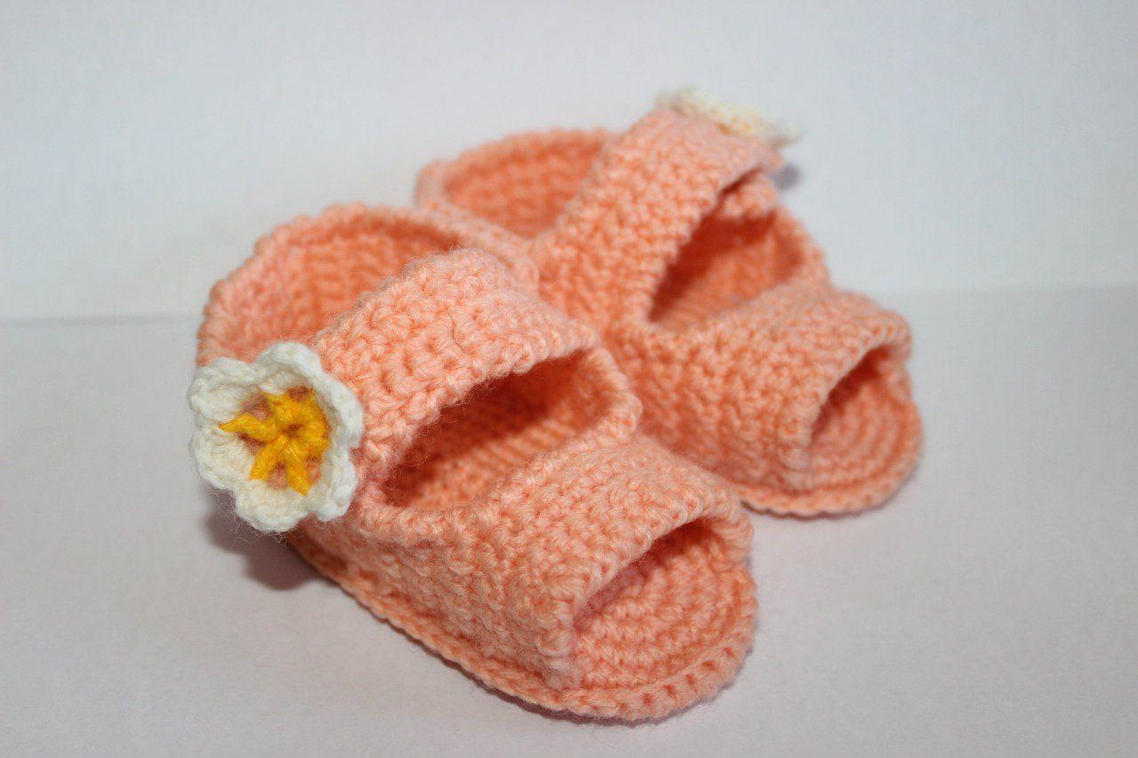 handemade сандали ручная пинетки работа крючок новорожденые на заказ