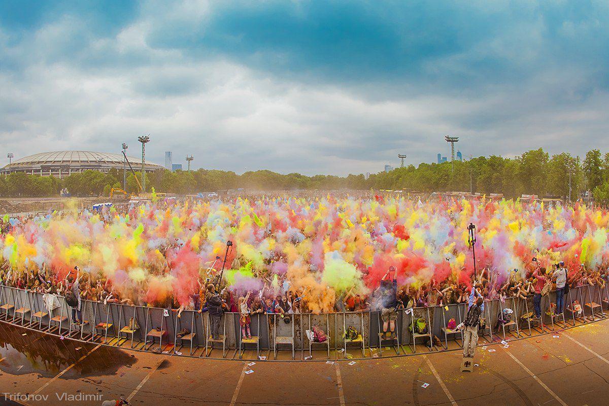 фестиваль встреча перформанс лето краски