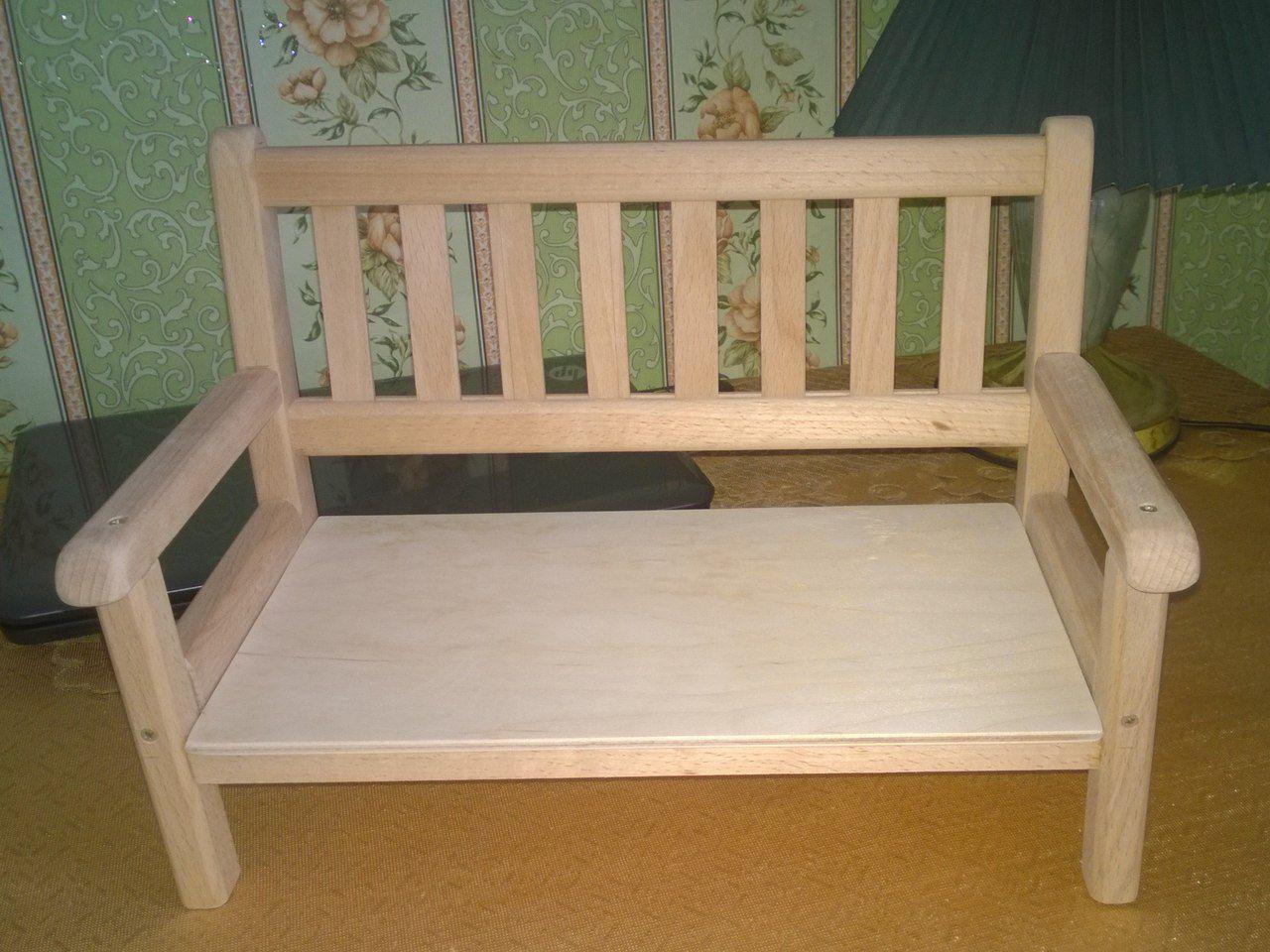 скамейка игрушки бук для деревянные дерево кукол