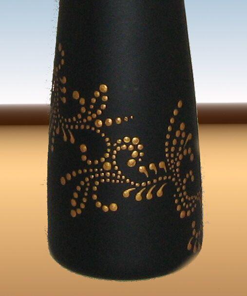 ваза роспись стекло