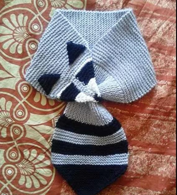 шарф вязание детям заказ енот