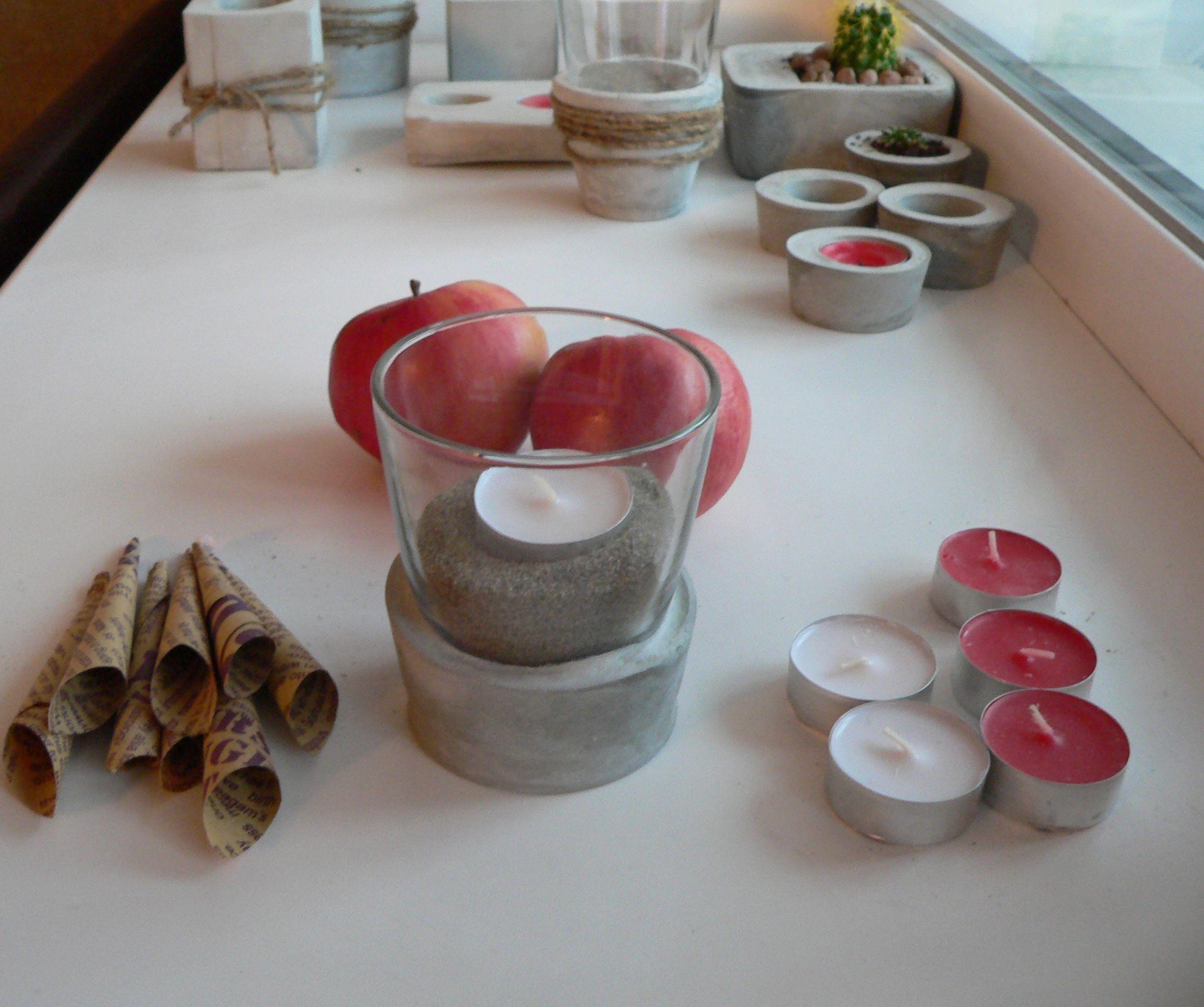 подарки бетон стекло