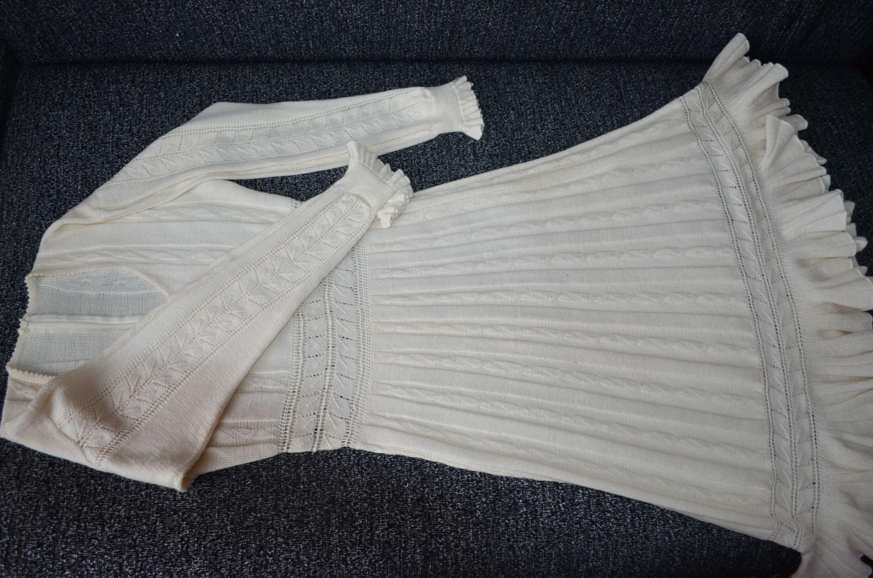 вязание платье спицы уникальное