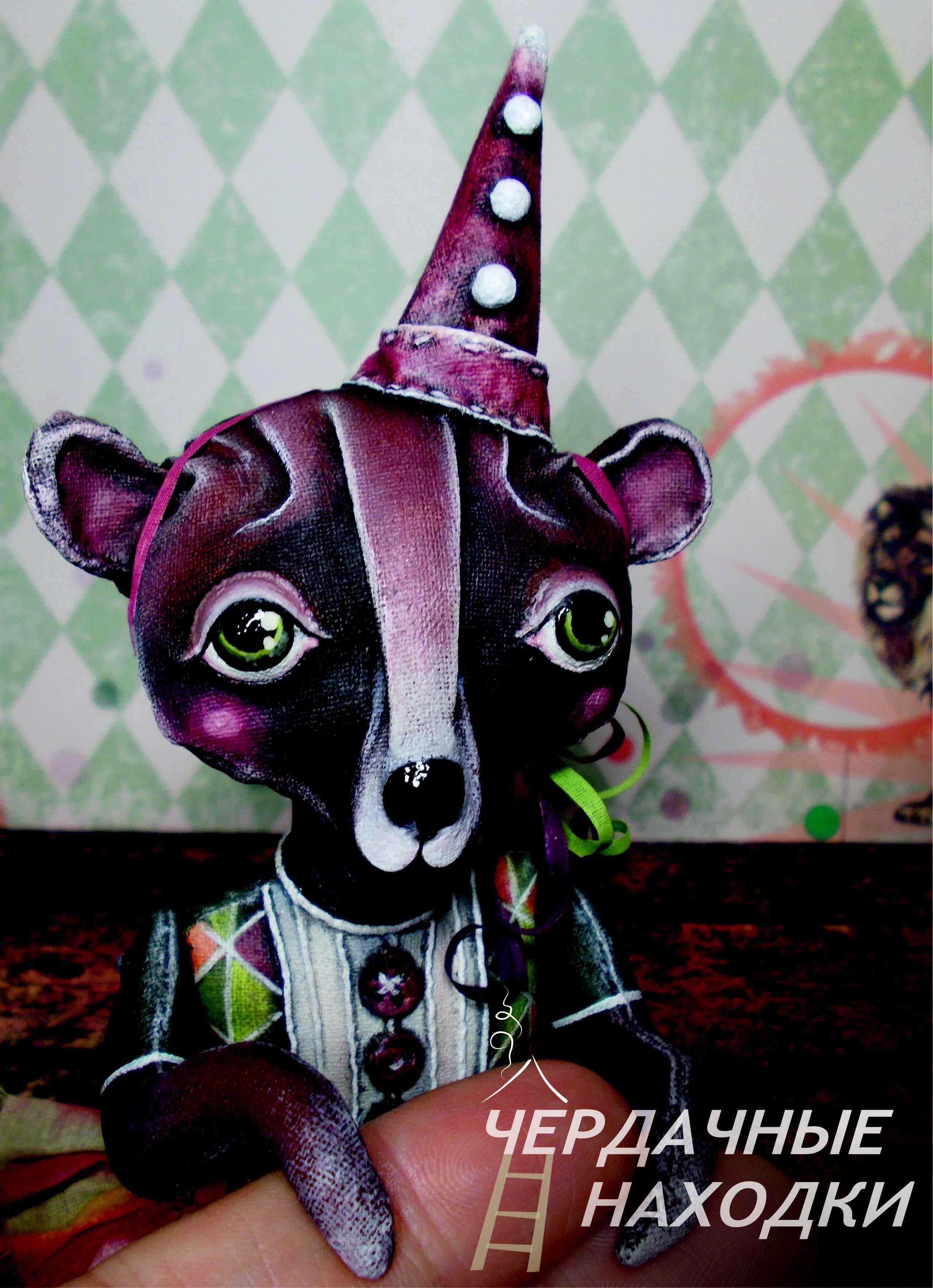бязь handmade цирк сувенир мишкатедди акрил подарок мишка ручнаяработа