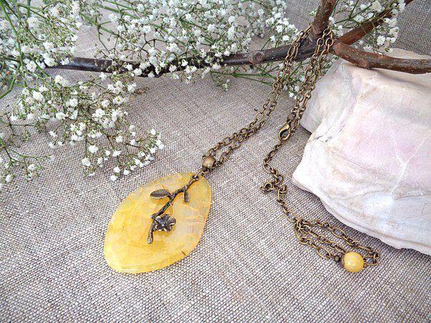 агат подарок украшение кулон