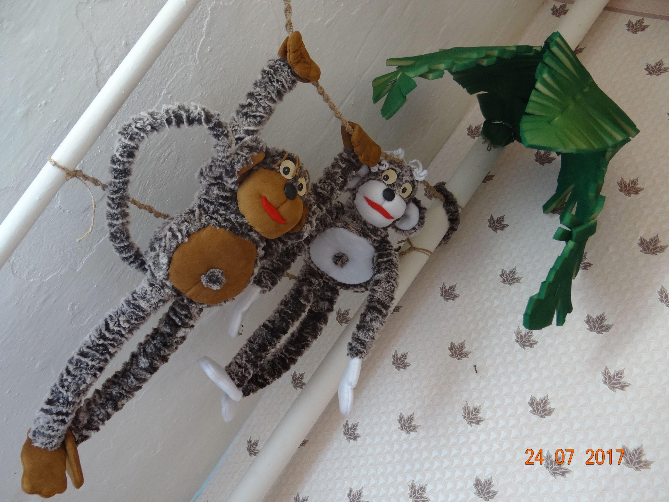 мягкие обезьяны обезьяна игрушки