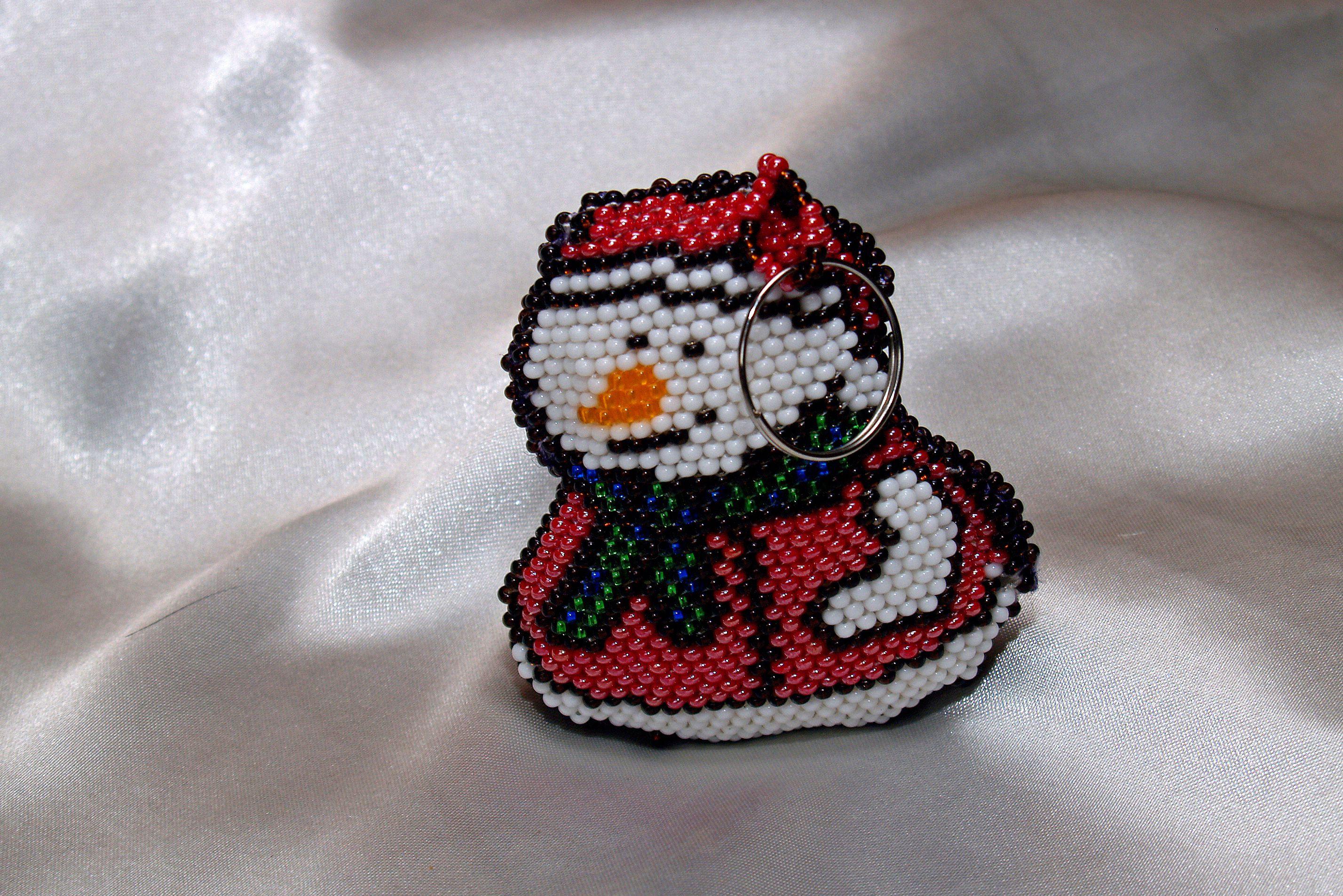 подарок украшения аксессуары брелок новыйгод снеговик избисера 2017год новогодняятематика