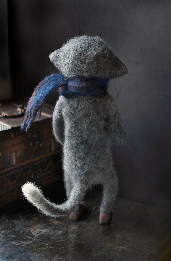 кот шерсь купить игрушка валяние ручнаяработа