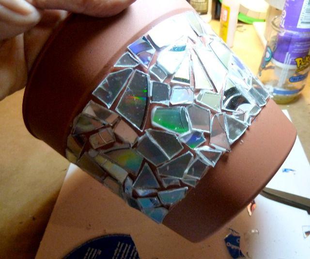 Поделки из дисков своими руками 6