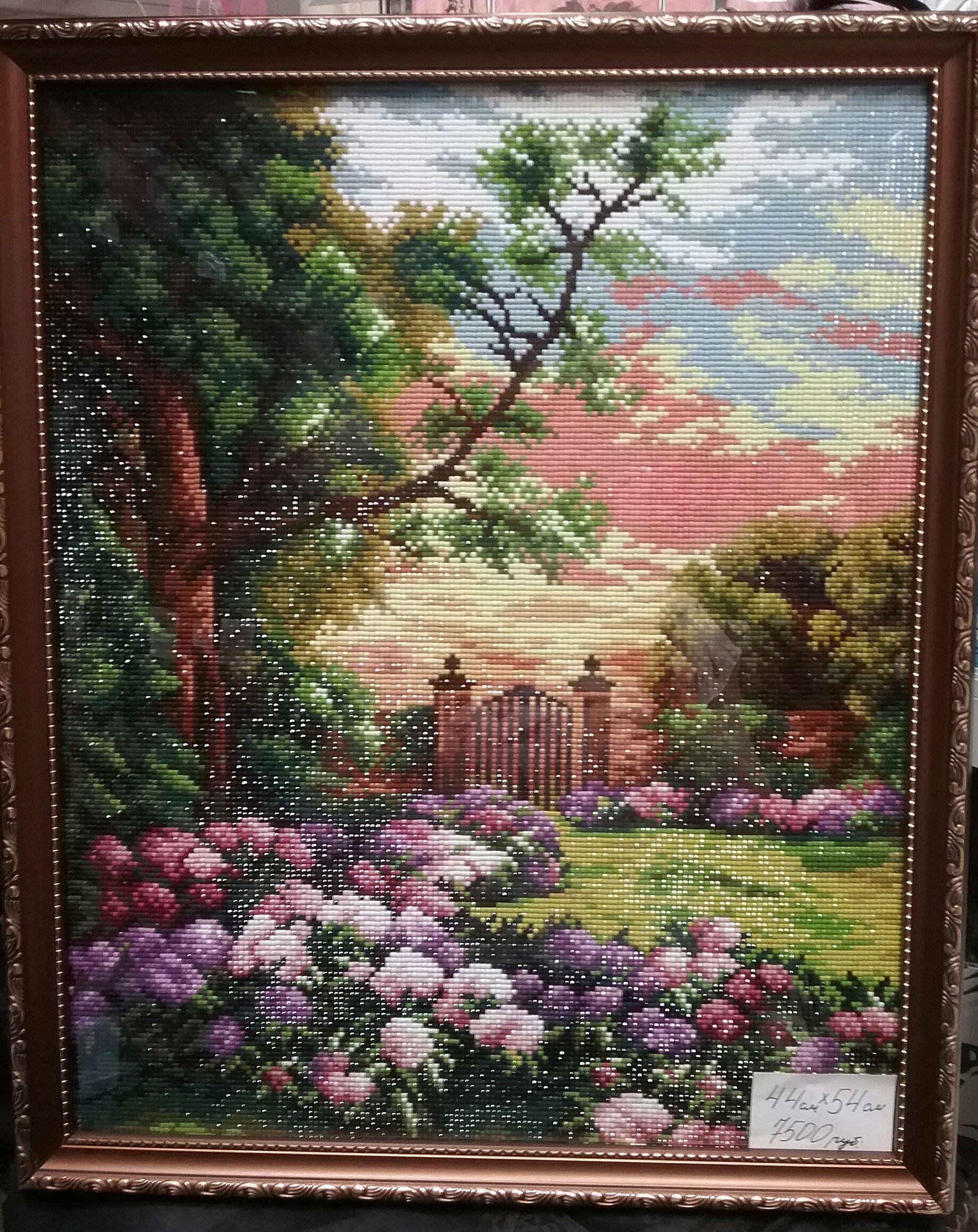 багет подарок живопись пейзаж мозайка алмаз натюрморт картинакартины