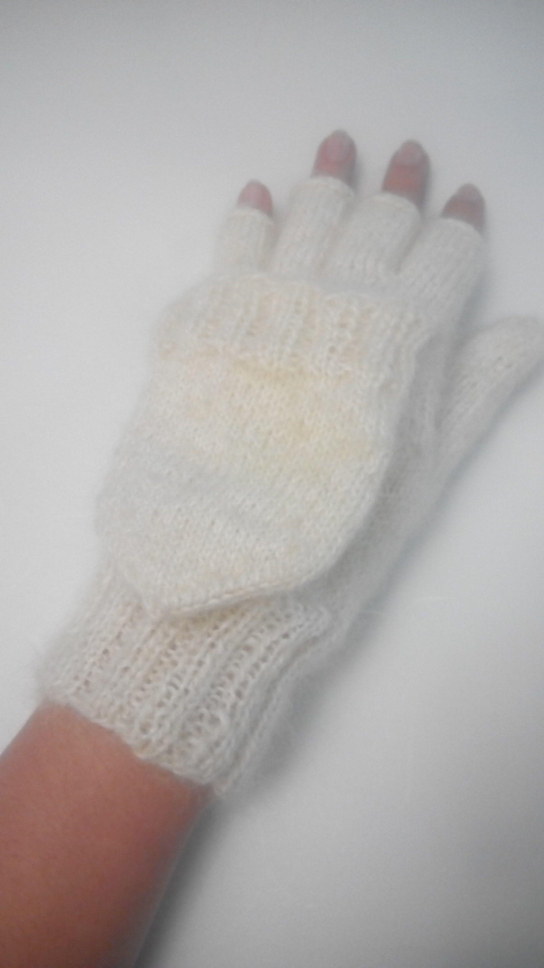 спицами варежки зимнее заказ вязание