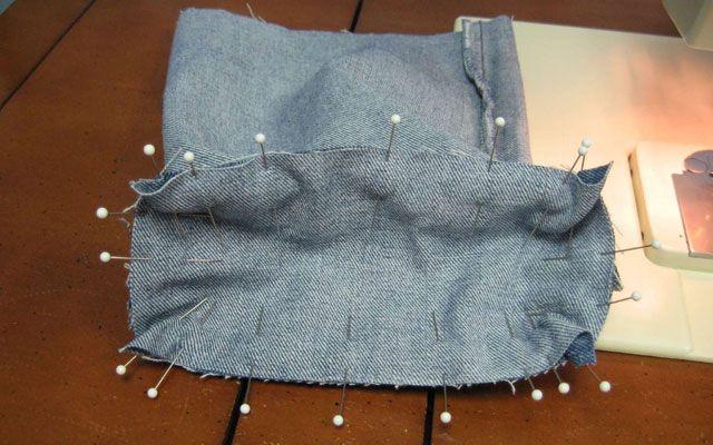 Из старых джинсов своими руками 18