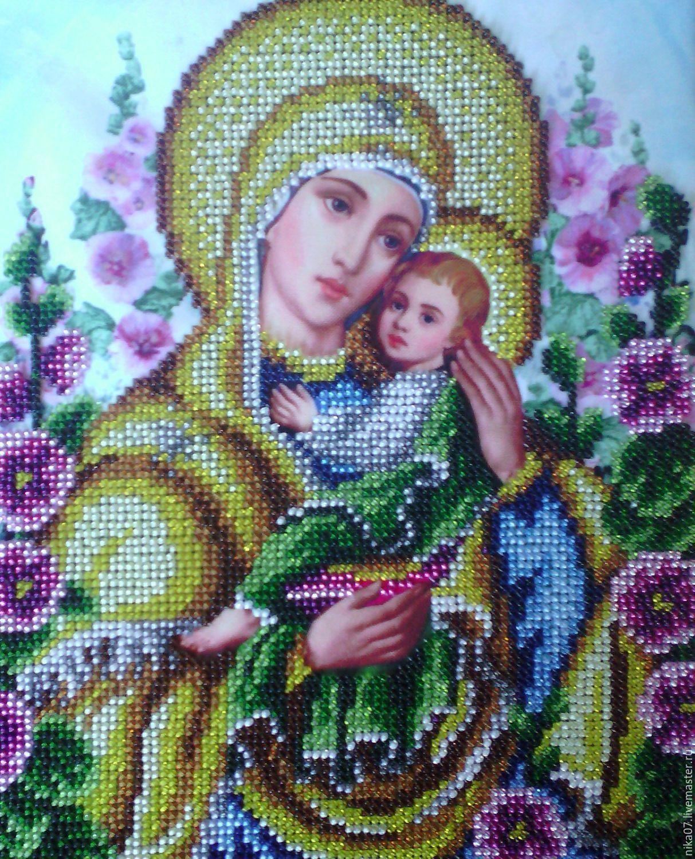 женщине подарок картина умиление бисером вышивка икона сердец злых умягчение девушке иконы