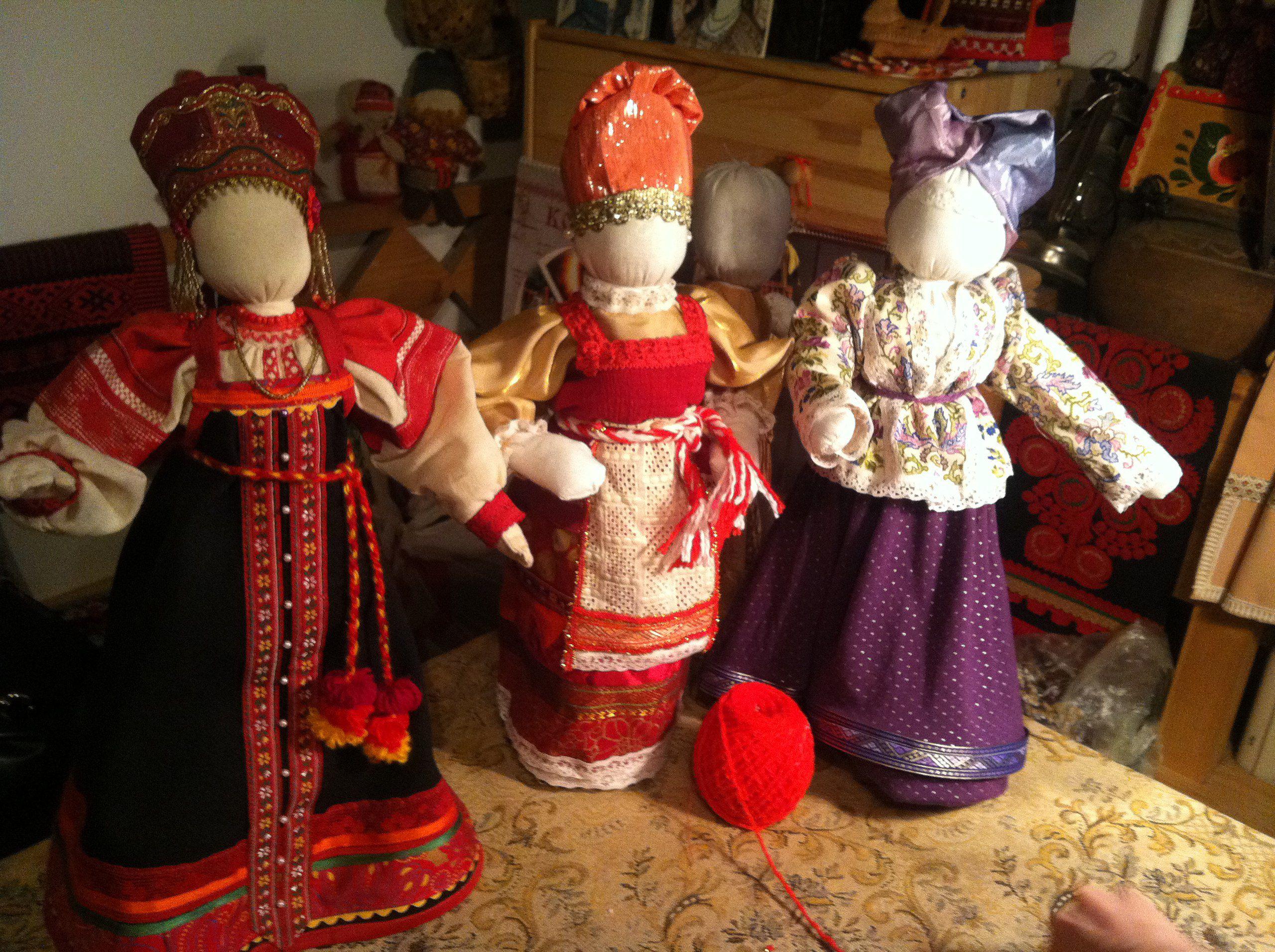мастеркласс кукла оберег текстиль
