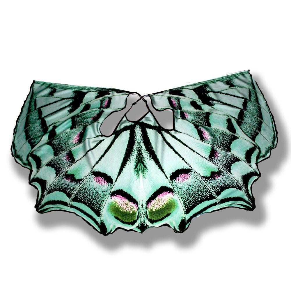 шелк бабочка зеленая красивая бируюзовая парусник расцветка девочки комбинированный звериная летнее платье фотопринт подарок легкое крылья сарафан принт девочке сублимация