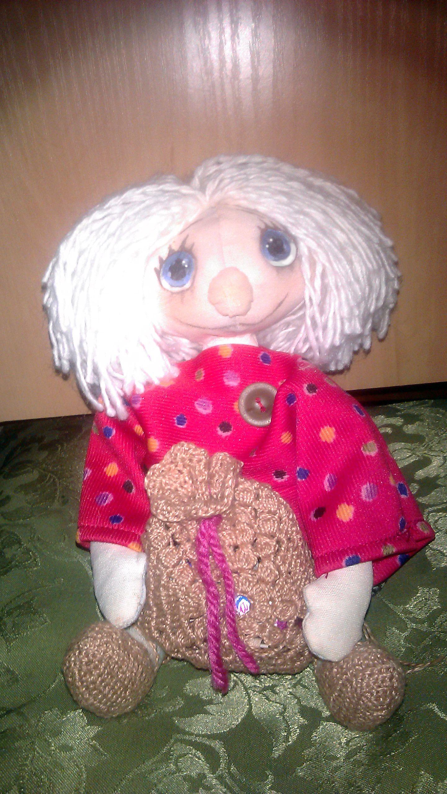 интерьерная дома. кукла оберег для домовенок.