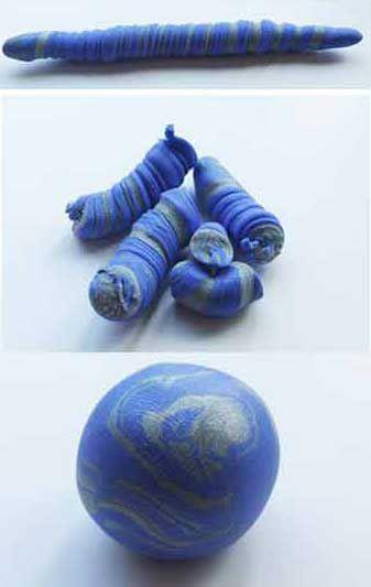 Цветы из полимерной глины 6