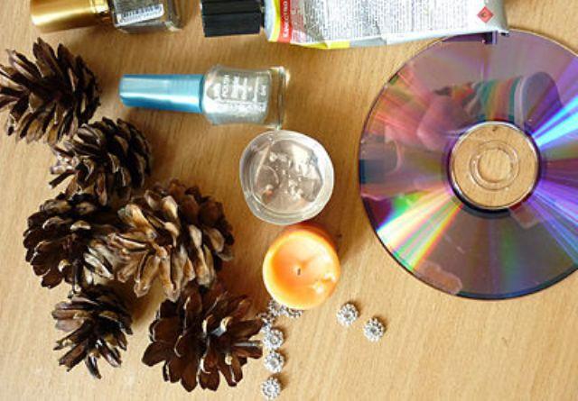 Поделки из дисков своими руками 10