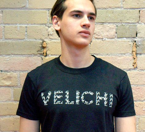 принт футболка дизайн velichi брэнд