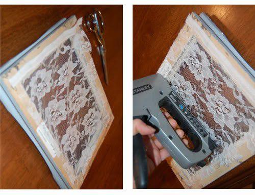 сережки сережек применение рамок быт для органайзер рамка руками своими