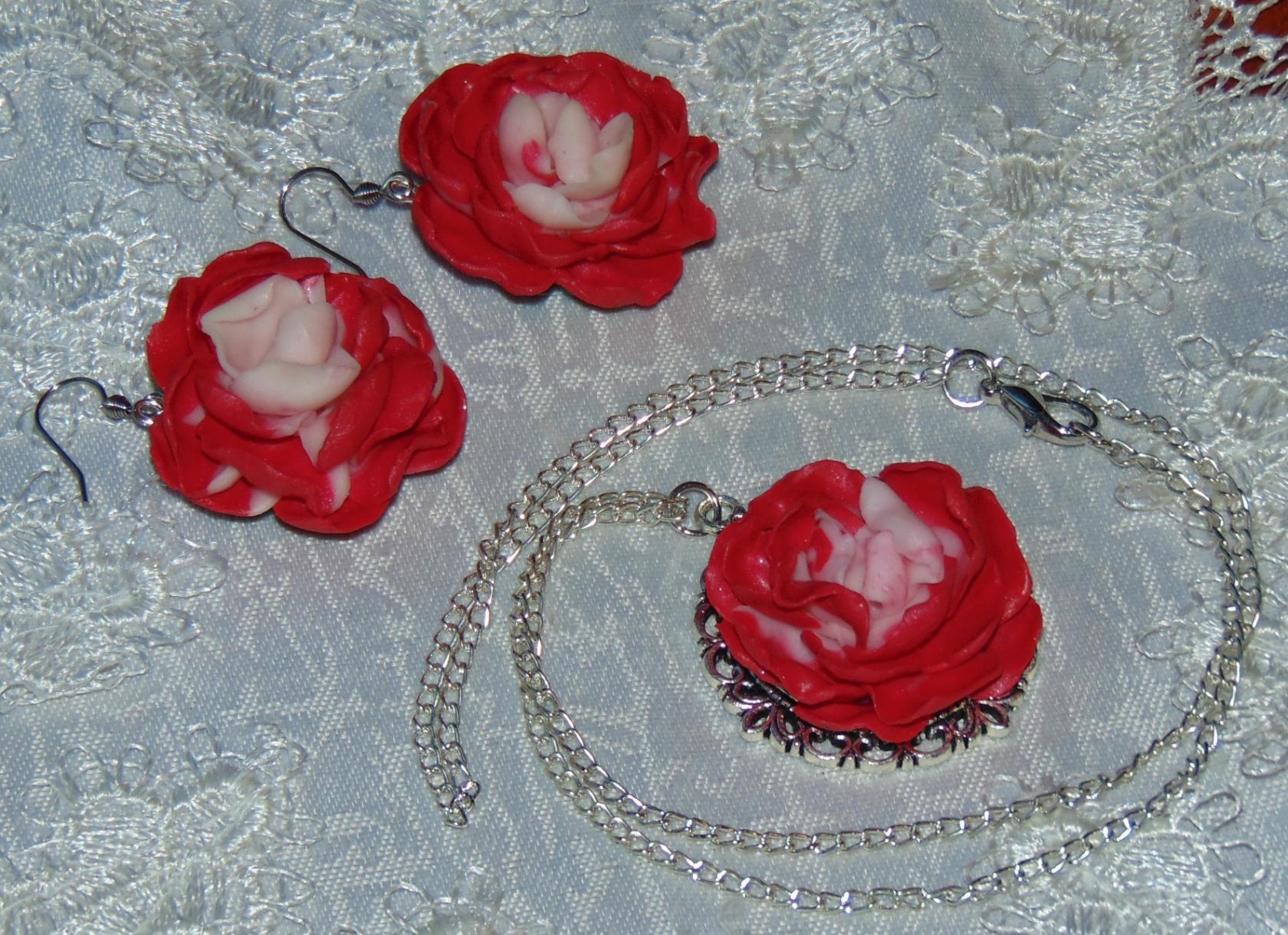 серьги кулон комплект красота украшения подарок