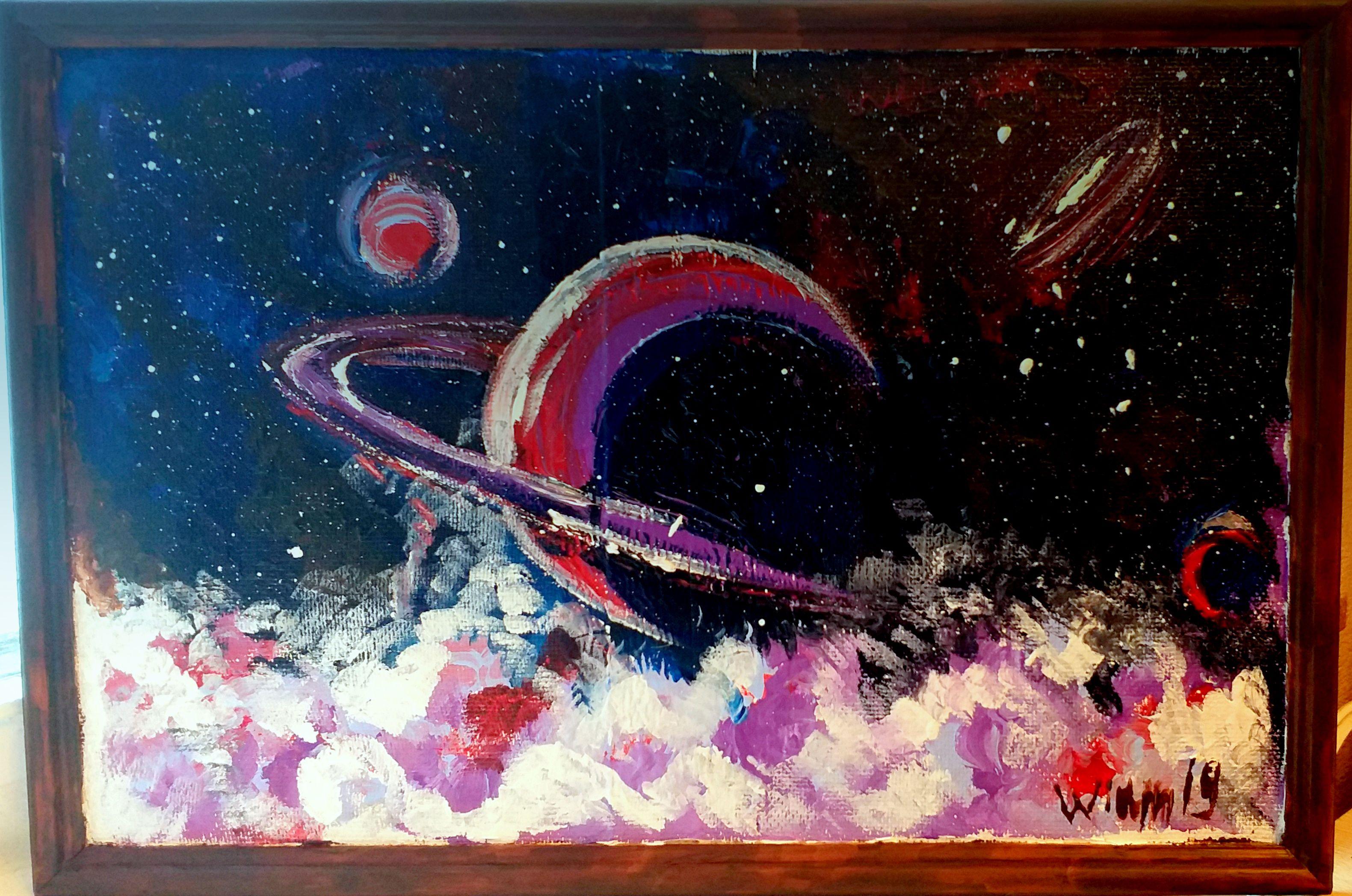 авторская вселенная арт совремнная абстракция ручная акрил продажа живопись картины работа космос вещь