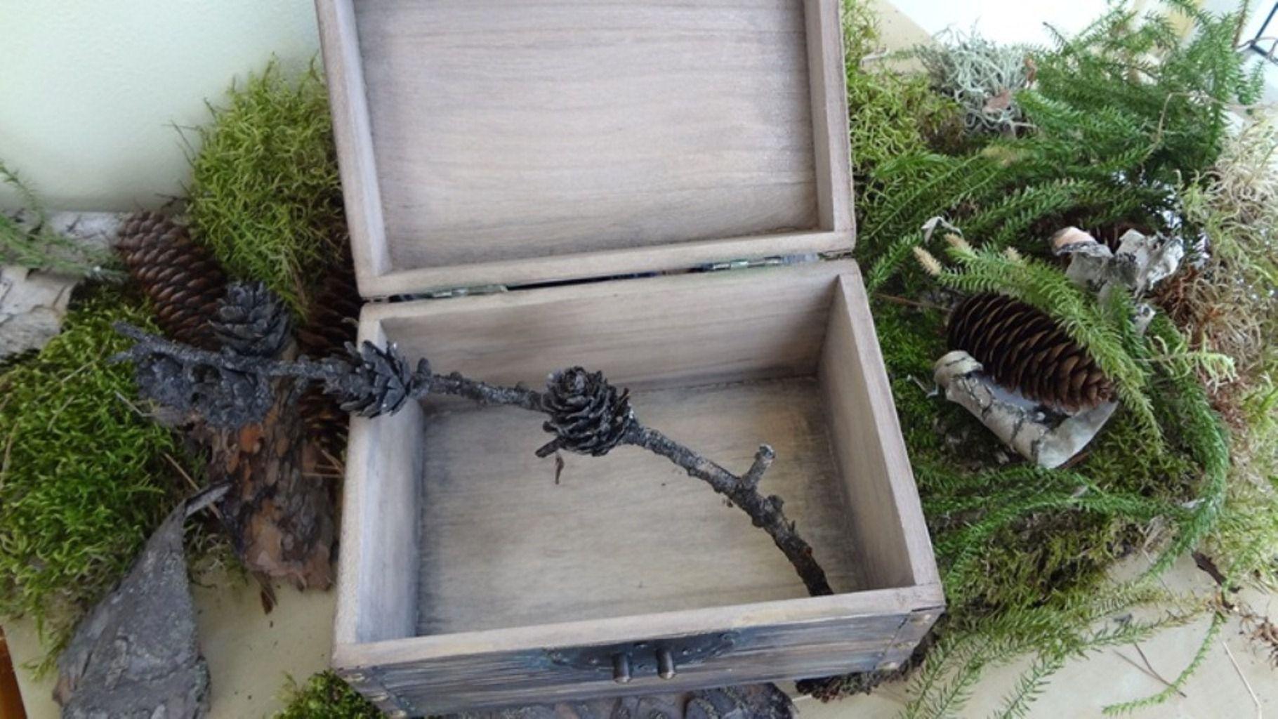 женщине старинная дерева старого работы волк ручной имитация шкатулка мужчине подарок