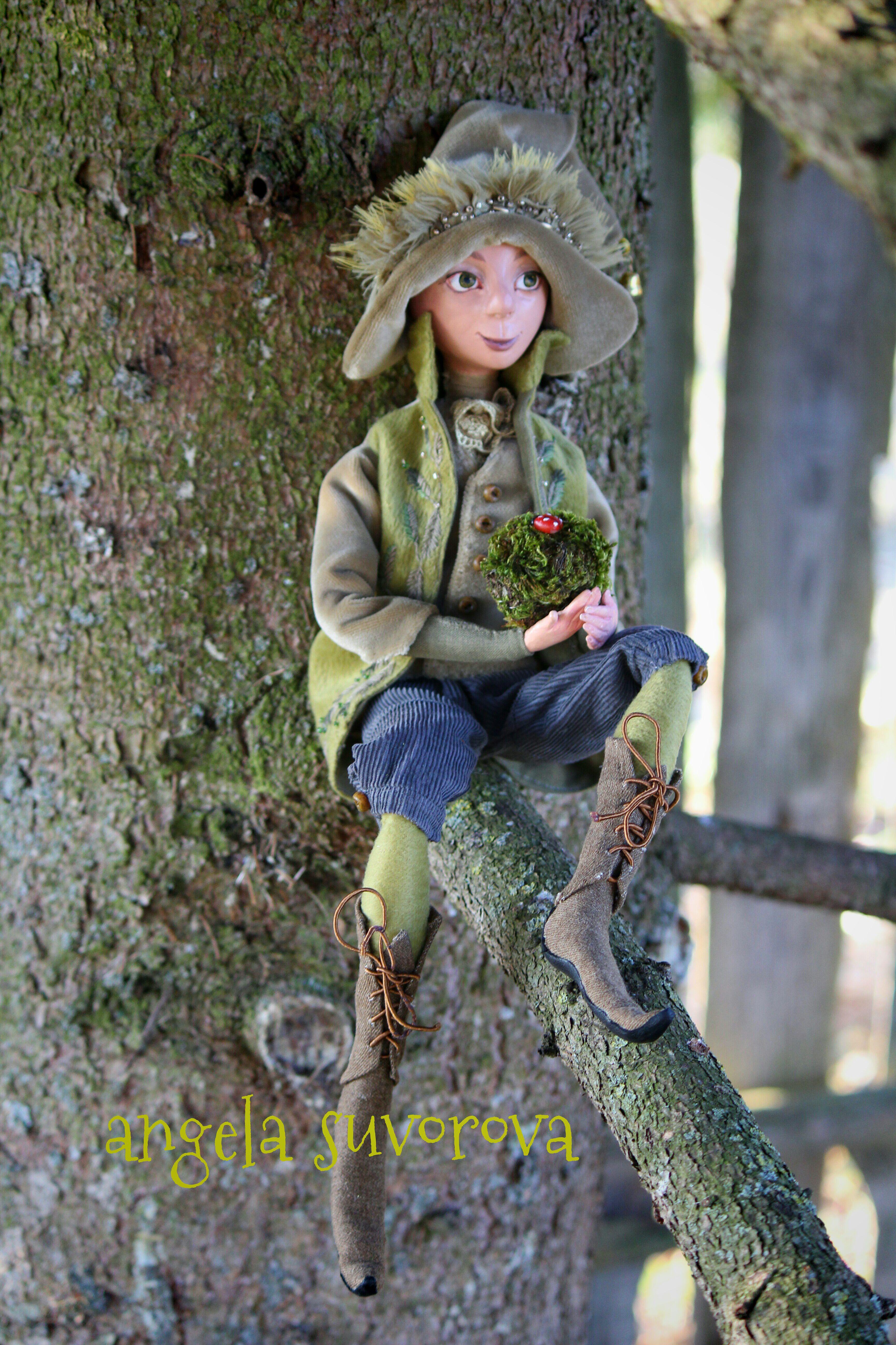 doll кукла aвторскаякукла сувенир куклавподарок авторскаякукла