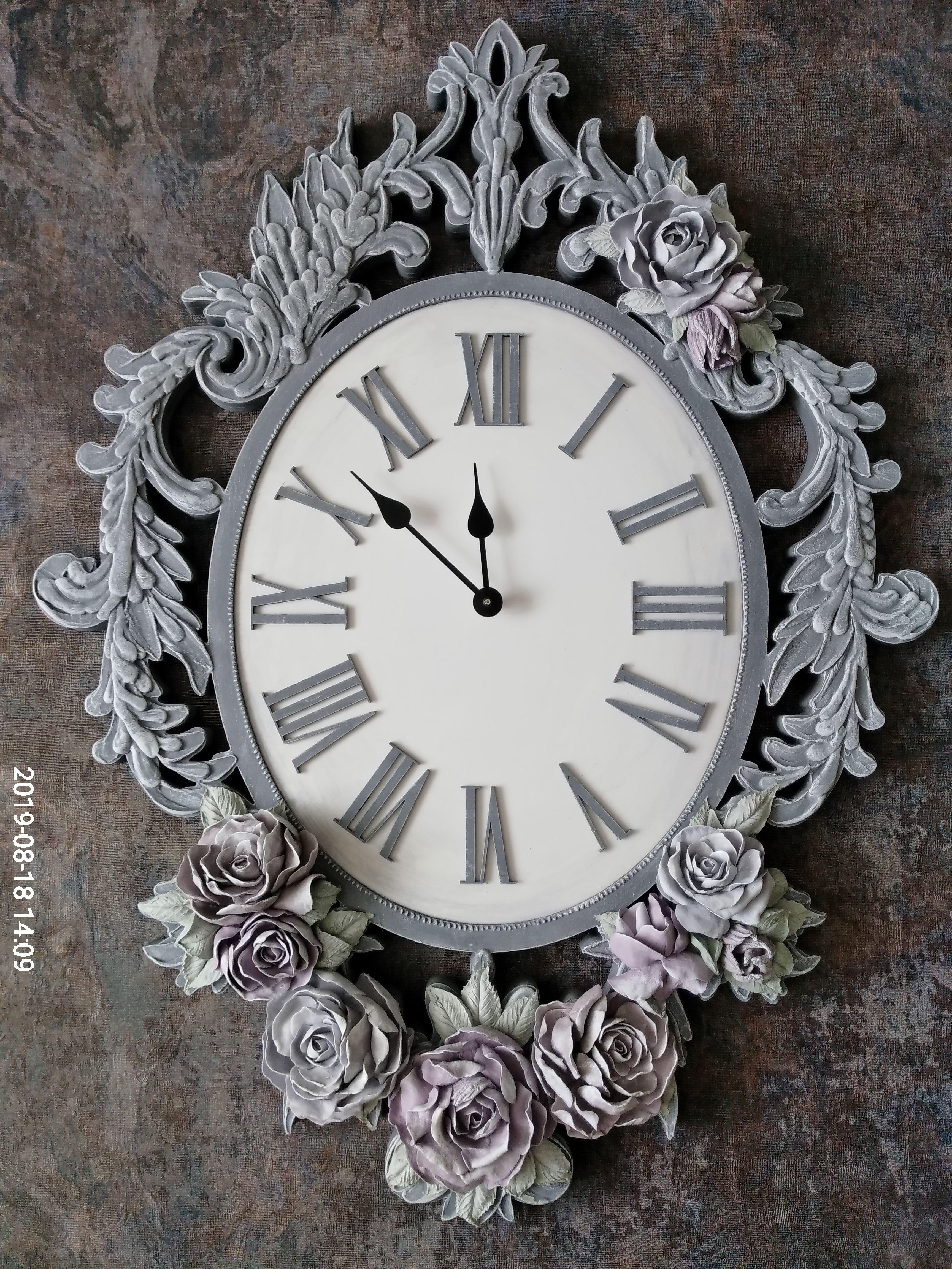 подарок работа ручная уют интерьер часы шеббишик дом