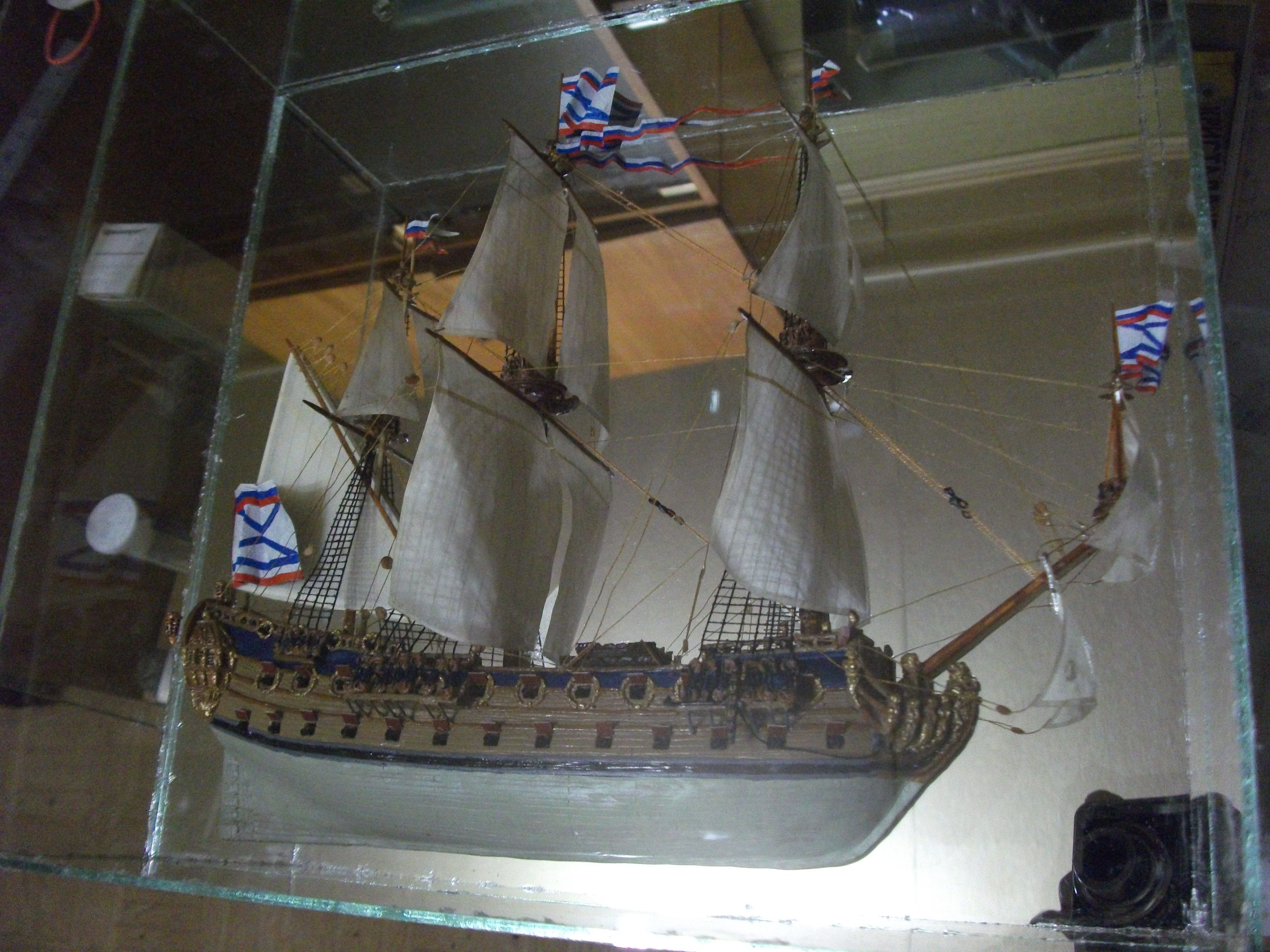 полимерная глина подарок корабль модель миниатюра