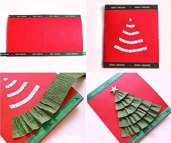 Новогодние открытки своими руками 2