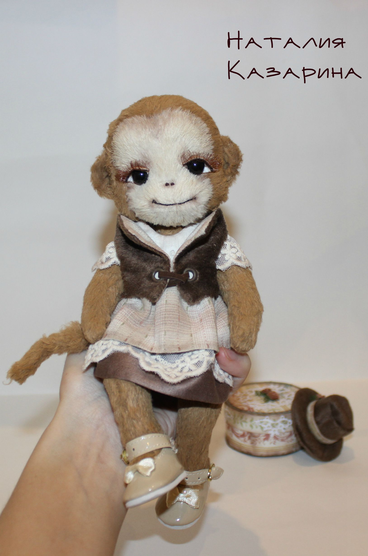 игрушка тедди обезьянка подарок