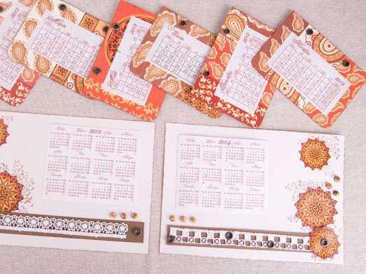 Календарь своими руками 5