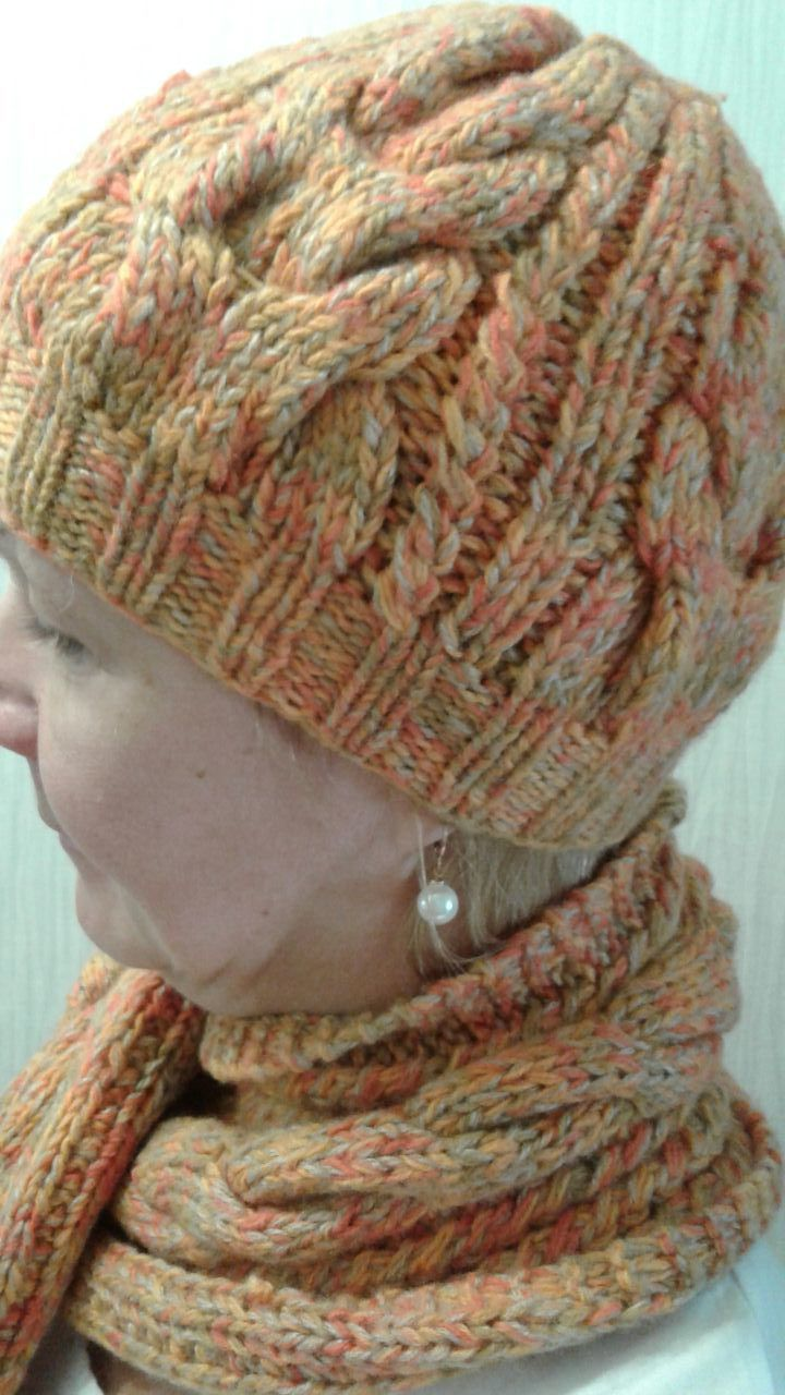 шапочка шарф