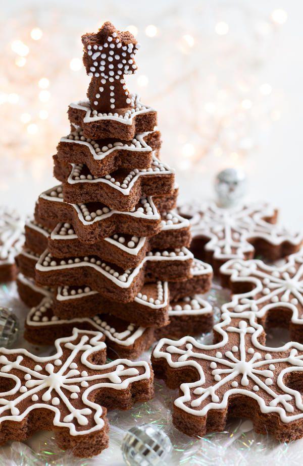 печенье кулинария елка рождество