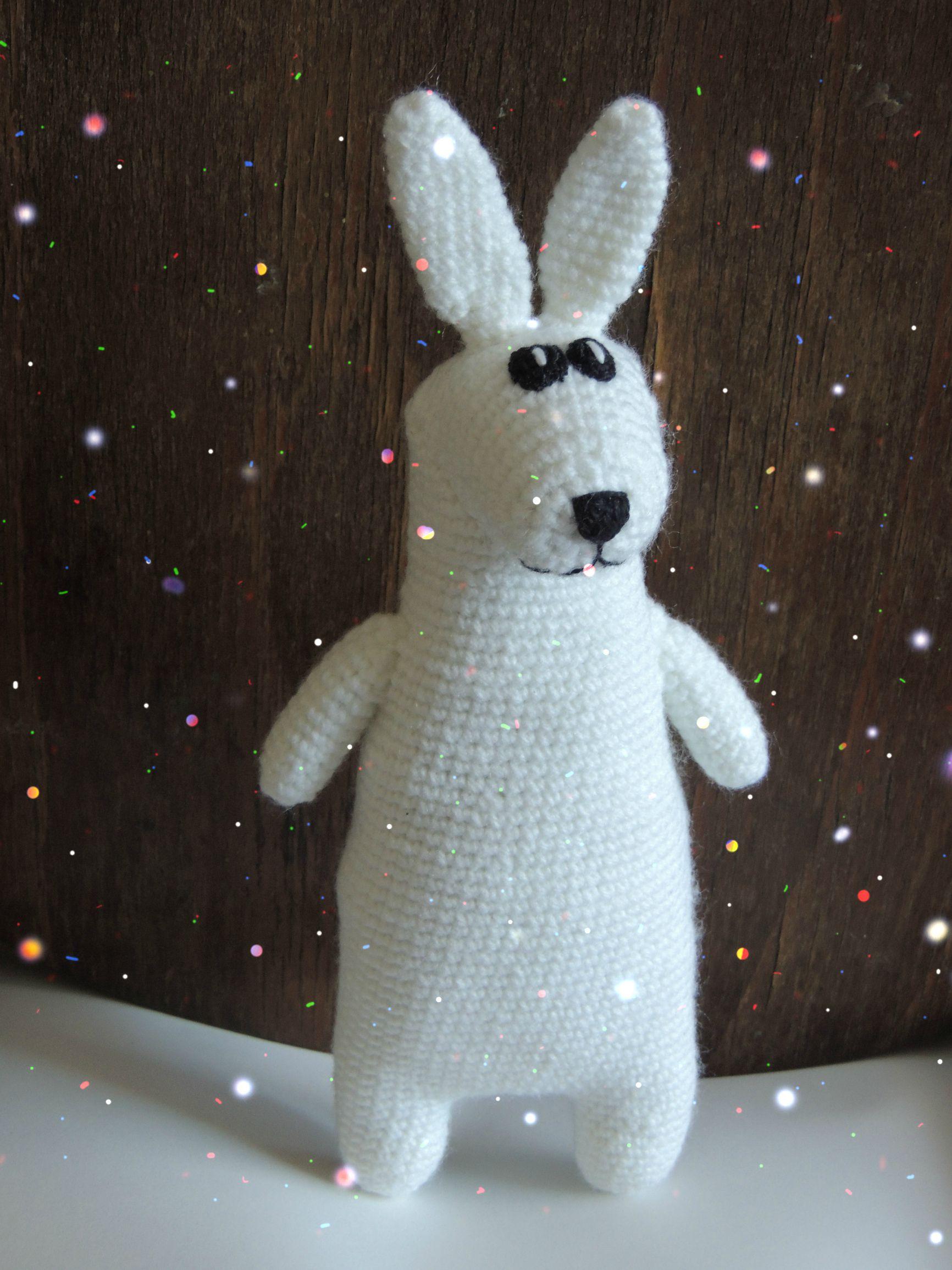 подарок белыйкролик кролик сувенир заяц