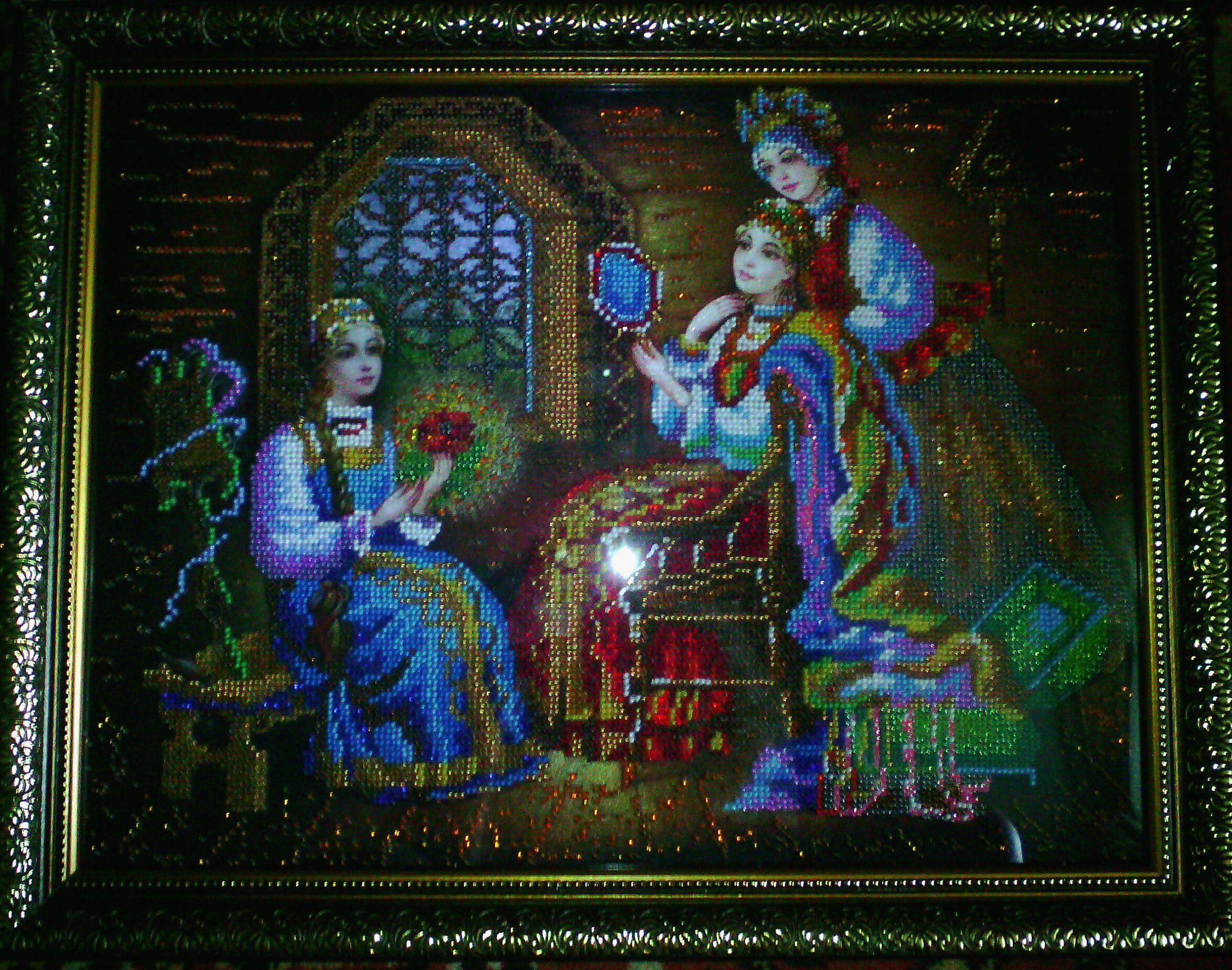 день рождения бисер картина вышивка ребенку сказка волшебство подарок