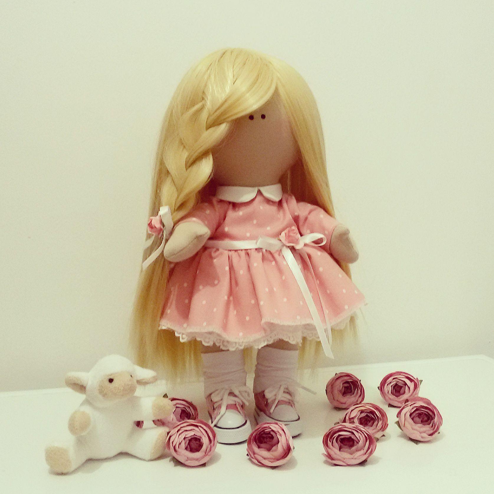 интерьер куклаизткани кукла ручнаяработа