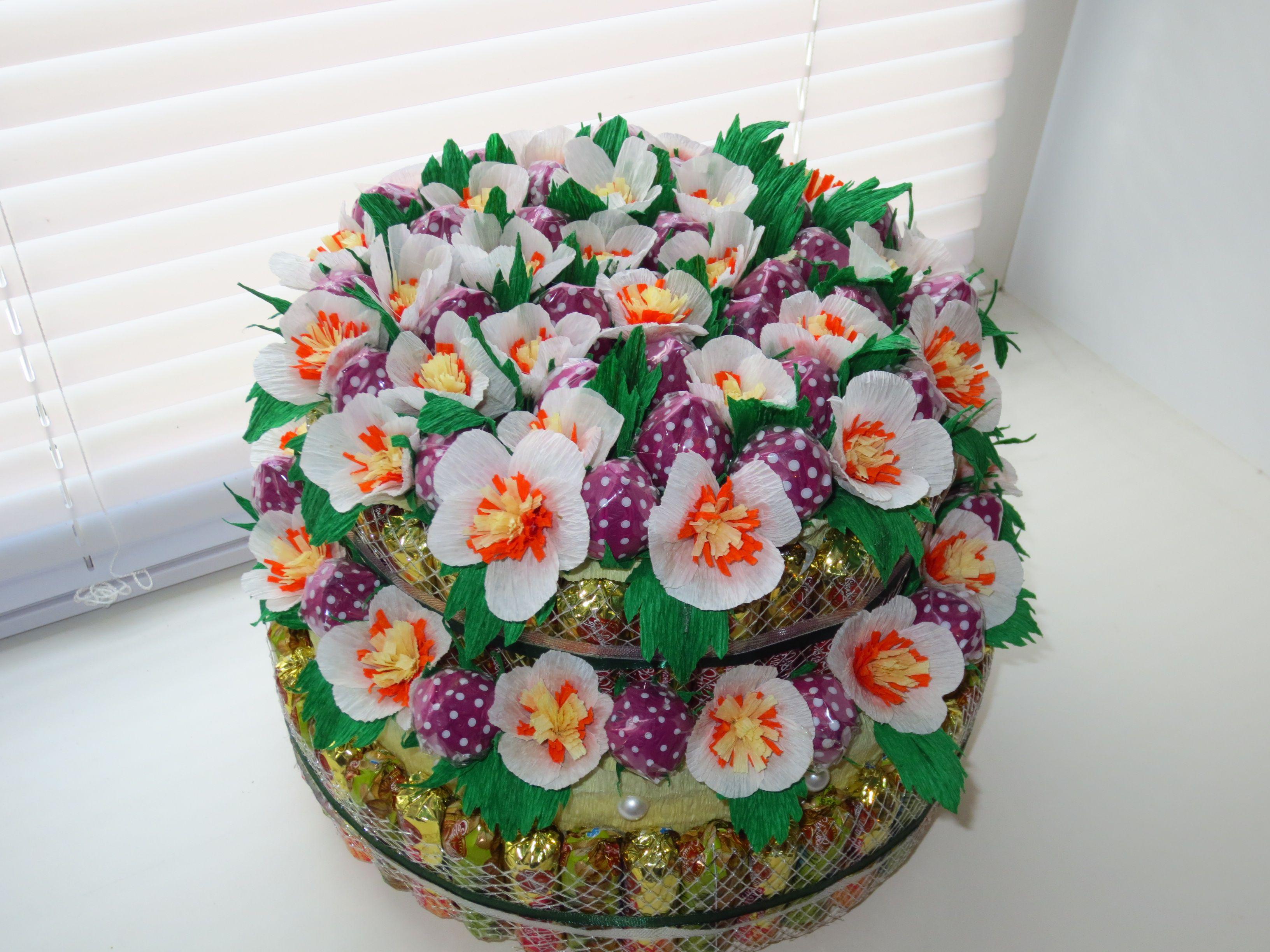 подарок праздник клубника тортизконфет деньрождения цветы