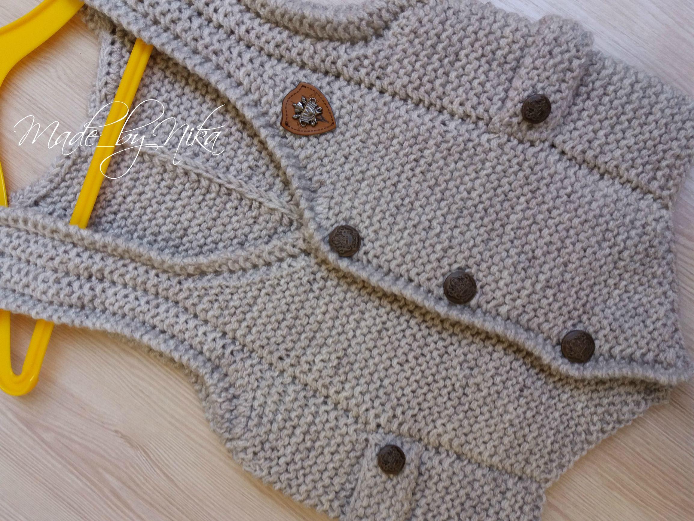жилетка работа жакет одежда handmade безрукавка стиль ручная заказ вязание мода made_by_nika