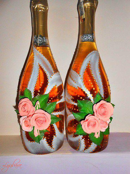 праздничное шампанское. свадебное шампанское