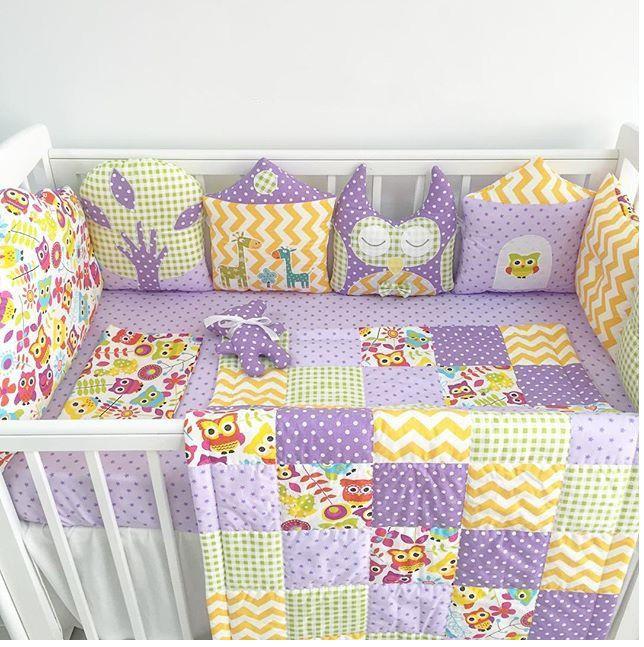 постельное вкроватку новорожденный бортики