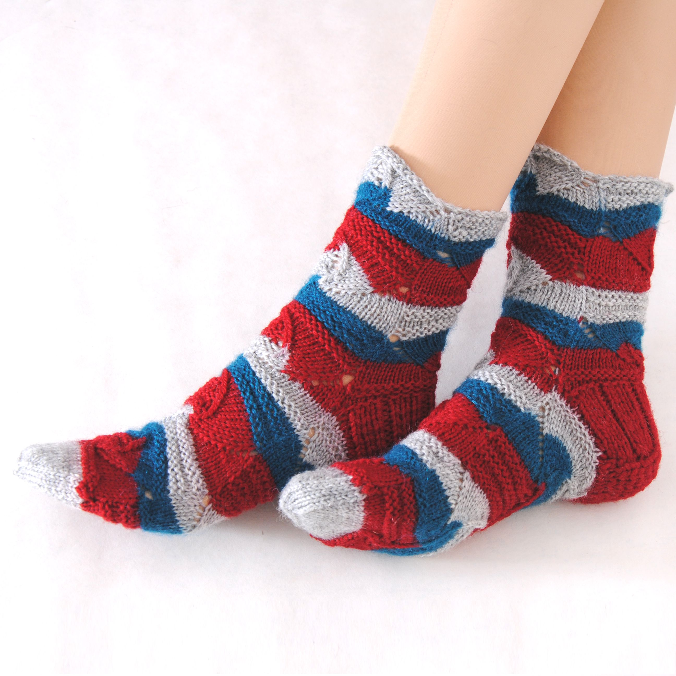вязаные подарок купить шерстяные носки женские уютные тёплые