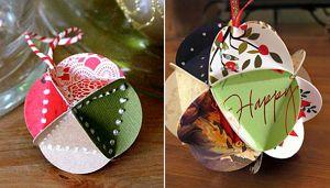 Новогодние шары своими руками 6