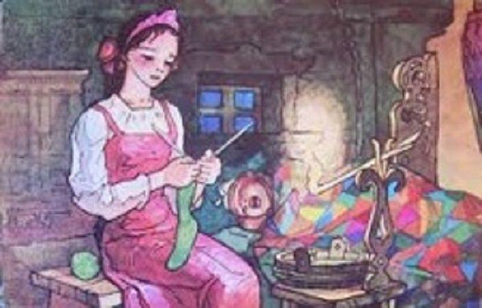 спицами сказ сказка рукоделие ручная вязание работа крючком